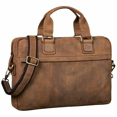 """STILORD """"Andrew"""" Vintage Business Leather Bag Classic Briefcase 13,3 Inch"""