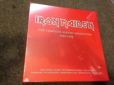 Iron Maiden 3 Lp Box Set Stunning Mint Sealed The Complete Albums Collection
