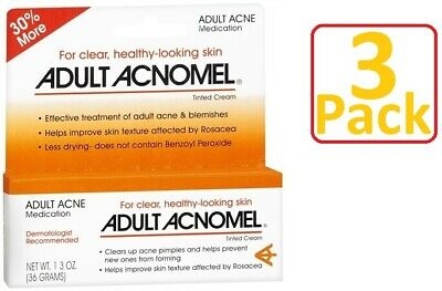 Acnomel Adult Acne Medication 1.3oz Always FRESH! - 3 Pack