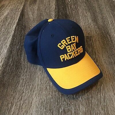 Green Bay Packers Men s Throwback Hat Fitted Cap Large-XLarge New Era  39thirty d97cab079