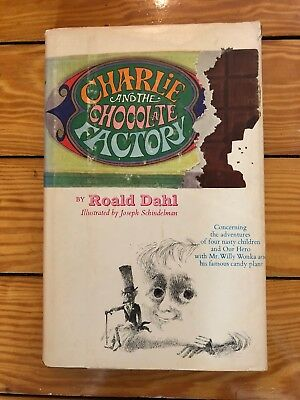 Roald Dahl - Charlie & The Chocolate Factory 1964 Revised Ed. 1973 HC VG