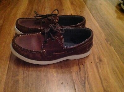 1be870a4b3d J By Jasper Conran Kids Boys  Navy Leather Boat Shoes. Excellent Condition!