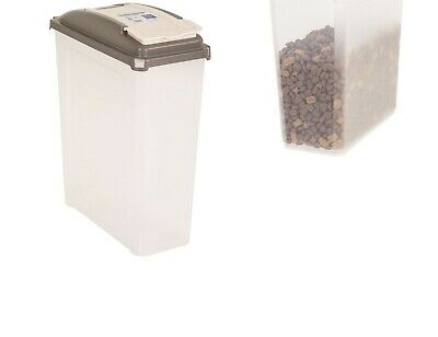 25L Large Storage Container Bin with Lid Pet Care Dog/Cat Dry Food Storage Box