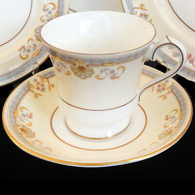 SHELBOURNE by Aynsley Tea Cup & Saucer Set NEW NEVER USED Bone China England