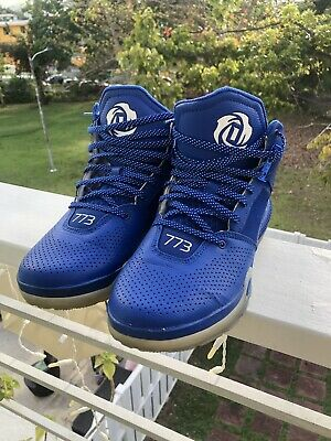 818a297160d ADIDAS D ROSE 773 IV Mens Basketball Shoes S85541 Sz 9.5 Royal Blue ...