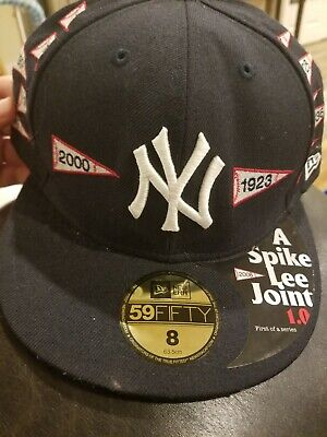 660784d0dbd NEW ERA × SPIKE LEE JOINT Collaboration 59FIFTY Baseball Cap Hat ...