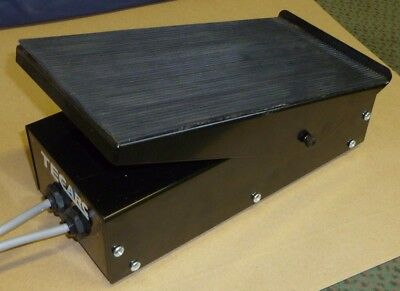 WELDER FOOT PEDAL - to suit TECARC AC/DC TIG welder  two 5