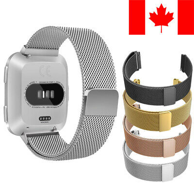 Milanese Loop Mesh Band With Magnetic Clasp For Fitbit Versa