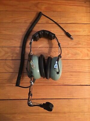 3ab04c08601 DAVID CLARK H10-66 Aviation Headphones with High Low Switch 1990s Untested  -  99.99