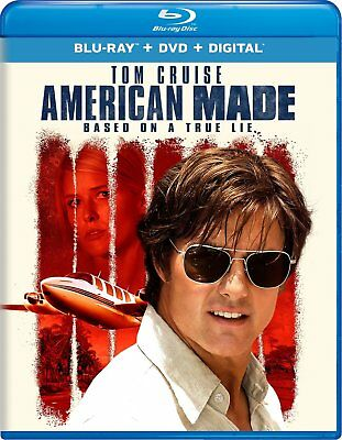 American Made Blu Ray + DVD + Digital Brand New Movie Ships Worldwide