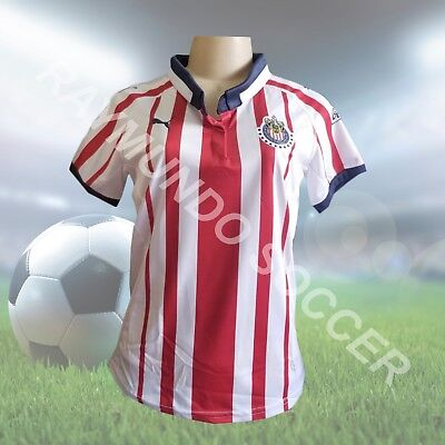 Puma Chivas Women s Home Jersey 2018-19 - Red White 458f88c615