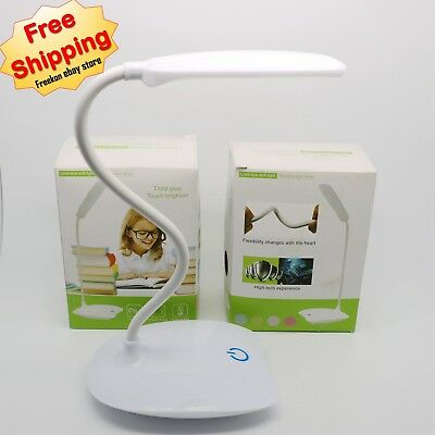 Mini 18 LED Touch Lamp Foldable USB Charging Reading Light For Bed Table Desk