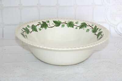 "Harker IVY Vine Royal Gadroon Made in U.S.A. 8 3/4"" Round Vegetable Serving Bowl"