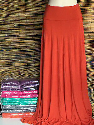 SPECIAL! Lot of 5 very good quality paneled maxi skirts.Not the flimsy quality.