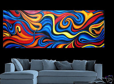 Large Landscape canvas abstract Modern Art Oil Painting  Australia by Jane
