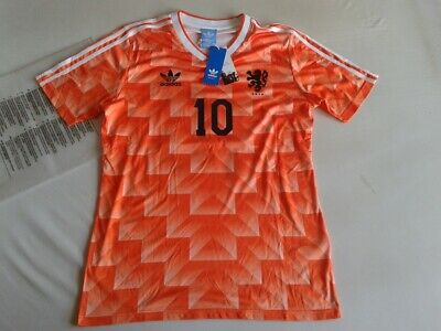 san francisco 9f833 a1177 NEW NETHERLANDS ADIDAS Holland Jersey EURO 1988 Retro Shirt Home Ruud Gullit