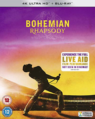 Bohemian Rhapsody Retail Blu-Ray Disc 4K (Uk Import) Blu-Ray New