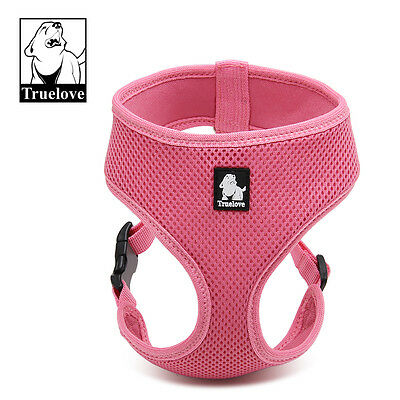 True Love Breathable Soft Air Mesh Dog Puppy Harness 8 Colours