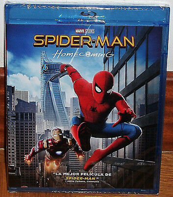 Spider-Man Homecoming Spiderman Blu-Ray New Sealed Action (Unopened) R2