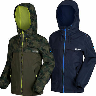 Regatta Hubbell Boys Waterproof Jacket