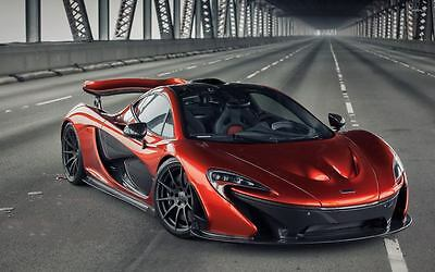 McLaren Ultimate Series - P1 S.Car Large Poster Wall Art Print Size A4 A2 A1