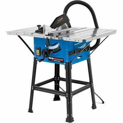 CLARKE CTS16 254MM TABLE SAW WITH STAND (230V) Motor: 1600W