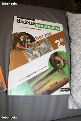 Tbe Livre Manuel Scolaire Bac Pro 2nde Seconde Francais Ibsn