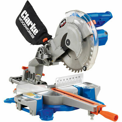 "Clarke Cms250S 10"" Sliding Compound Mitre Saw (230V)"