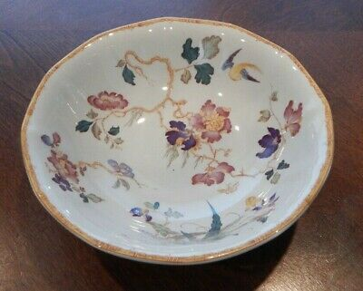 """Wedgwood """"Devon Rose"""" Pattern Coup Cereal Bowl (S)  6 1/4"""" Made In England"""