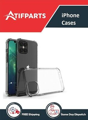 iPhone Shock Proof Crystal Clear case Soft Silicone Gel Bumper Cover Slim