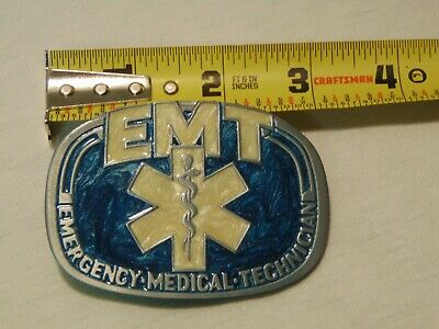 Emt Emergency Medical Rescue  Technician Belt Buckle  Bakery Buckle
