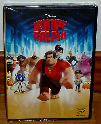 Rompe Ralph Dvd Disney Classic Nº 54 New Sealed Animation (Unopened) R2