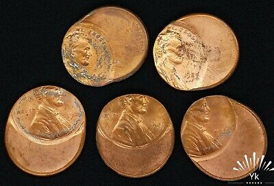 1984 1985 1986 1987 1988 Lot Consecutive Dates Off Center Mint Mistake Errors
