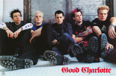 Lot Of 2 Posters:  Music : Good Charlotte  - Free Ship     #6550       Rp65 L