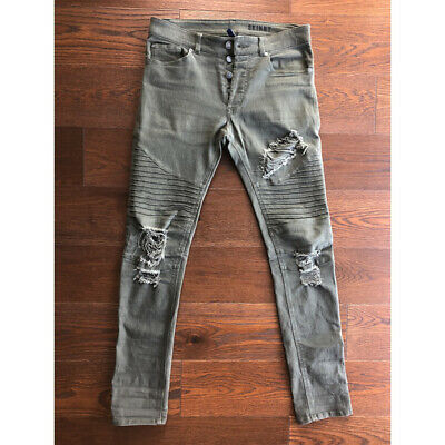 search for genuine high quality guarantee better H&M DIVIDED MEN'S Skinny/Distressed Jeans sz 31x32