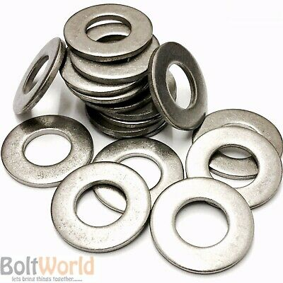 Form C Flat Washers A4 Stainless Steel Marine Grade Wide Large Wider M4 To M20