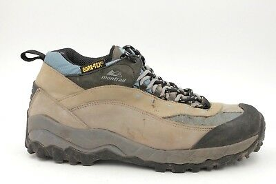 2634b7fa977 MONTRAIL WOMEN US 11 Brown Leather Hiking Athletic Shoes Gore-Tex Waterproof