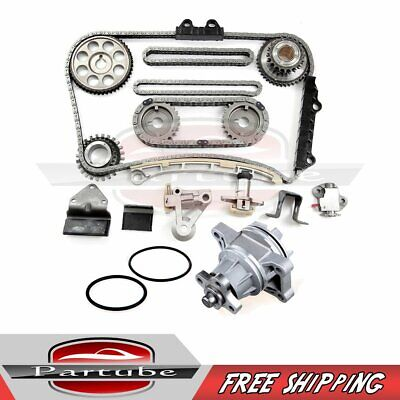 FOR SUZUKI CHEVY 2 5 2 7 H25A H27A Timing Chain Kit+Water Pump