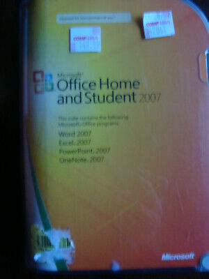 Microsoft Office 2007 Home and Student - Good - Free Shipping