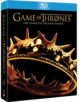 Game Of Thrones Season 2 BluRay Region B: Very Good: All DVDs Priced To Clear!