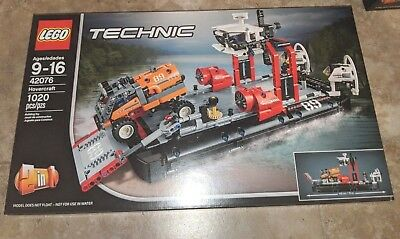Lego 42076 Technic Hovercraft - Brand New! Factory Sealed! 1020 Pieces Dmg Boxes