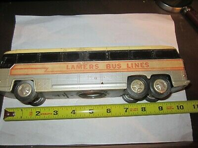 Lamers Bus Lines Coin Piggy Bank Coach Toy or Collectible