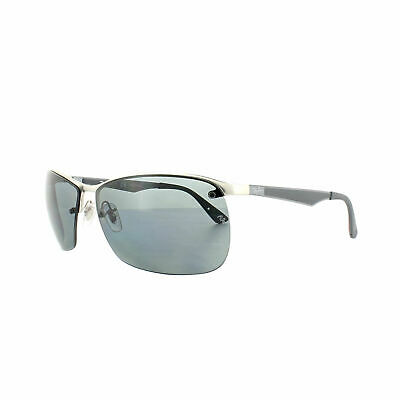 RayBan 3550 POLARIZED Sunglasses Silver Grey Gradient 3550 019/81 64-15
