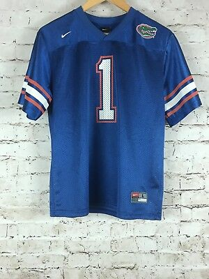 55779076d Youth Florida Gators Football Jersey Size Large Blue Nike  1 Tim Tebow