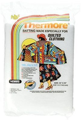 Hobbs 54 x 45-Inch Clothing Thermore Ultra-Thin Batting, White QUILTING PROJECTS
