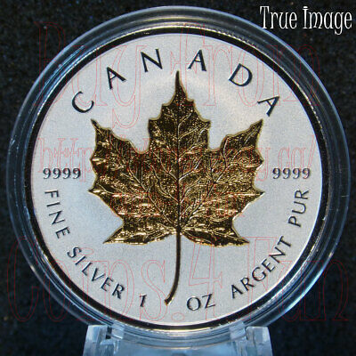 2019 - 40th Anniversary of Gold Maple Leaf - $20 1 OZ Pure Silver Coin - Canada