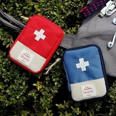 Portable First Aid Kit Pouch Home Medical Box Case Emergency Survival Kit Bag