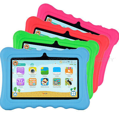XGODY 7 INCH HD 8GB Android 8.1 Kids Tablet PC Quad-core Dual Camera Bundle Case