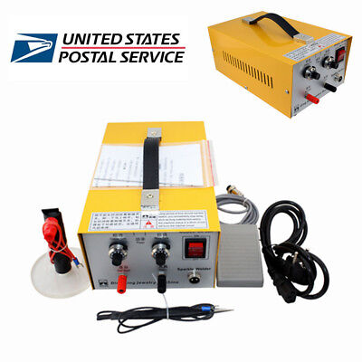 DURABLE 2in 1 Jewelry Pulse Sparkle Spot Welder Electric Jewelry Welding Machine