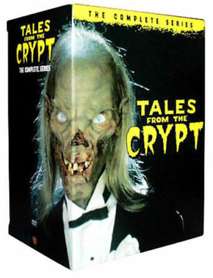 Tales From The Crypt: The Complete Series Seasons 1-7 (DVD,20-Disc Box Set) New